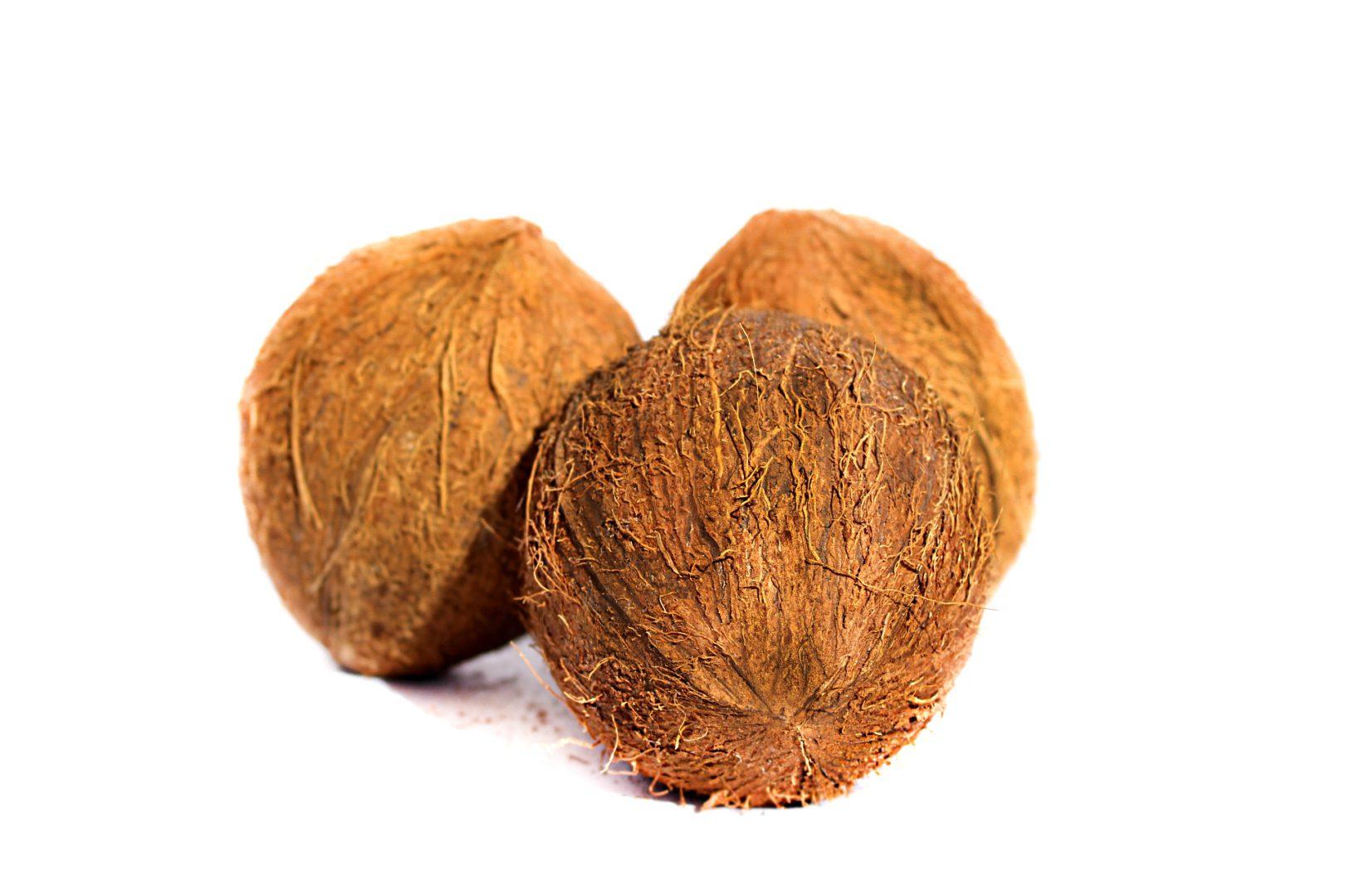 Droge Kokos